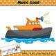 Music Concepts: Loud sounds Clip art