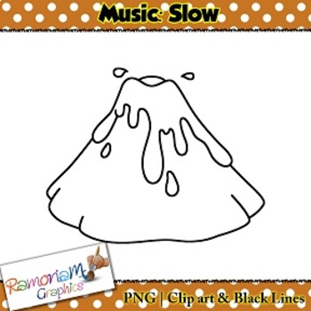 Music Concepts: Slow sounds Clip art