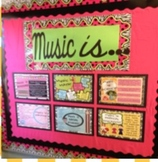 Music Connections Bulletin Board Kit