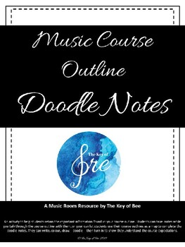 Music Course Outline Doodle Notes