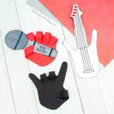 Music Crafts Using Handprints