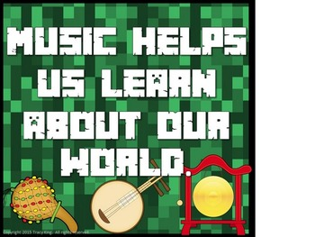Music Crafts Your Mind Bulletin Board