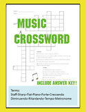 Music Crossword