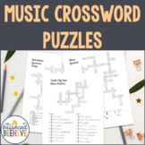 Music Crossword Puzzles