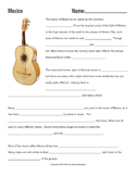 Music Cultures: Mexico