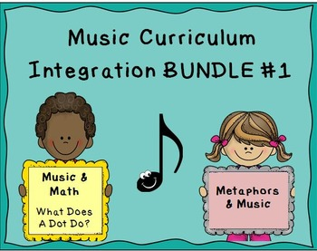 Music Curriculum Integration BUNDLE #1