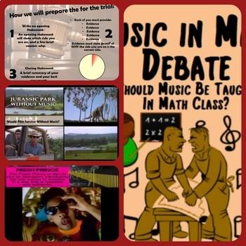 Music Debate Madness ~Bundle~ Get Students Talking Before You Start Talking
