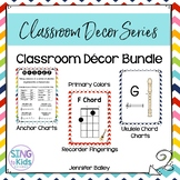 Music Decor Bundle: Chevron