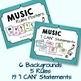 Music Decor Bundle - Green & Gingham - Coordinates with Te