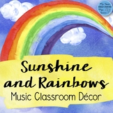 Music Decor Bundle: Sunshine and Rainbows