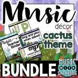 Music Decor: Cactus-Themed $$$ Saving Bundle