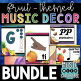 Music Decor: Fruit-Themed $$$ Saving Bundle