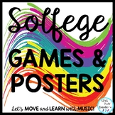Music Decor Kodaly Solfa, Solfege Posters and Games in Pri