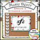Music Decor - SWEET SHOPPE - Dynamics Posters (Elements of Music)
