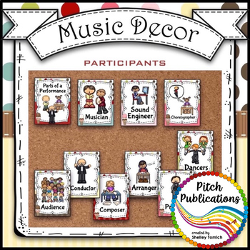 Music Decor - SWEET SHOPPE - Ensemble Posters