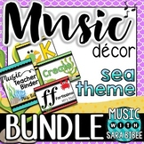 Music Decor: Sea Themed $$$ Saving Bundle