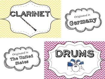 Music Decorations!