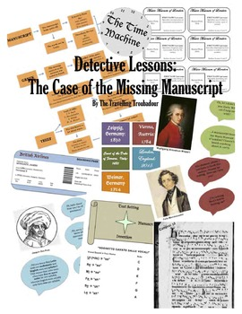Music Detective Lesson - The Case of the Missing Manuscript
