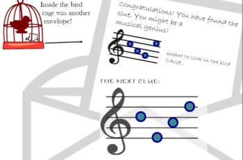 Music Detective - PPT BUNDLE - 5 games for ELEM - Treble Bass Orchestra Rhythm