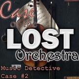"""Music Detective """"Case of the Lost Orchestra"""" Instruments - Smart Board Game"""