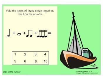 "Music Detective #3 ""Case of the Rhythm Pirates Treasure"" - Smart Board Game"