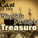"*Music Detective #3 ""Case of the Rhythm Pirates Treasure"" - SMART/PPT Game"