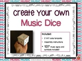 Music Activity: Create Your Own Music Dice