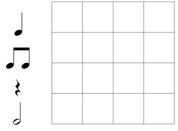 Music Dictation and Composition Templates (14 templates)