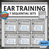 Music Ear Training Boom Cards | Melodic Identification BUN