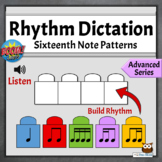 Music Game Distance Learning | Advanced Rhythmic Dictation