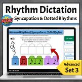 Digital Online Music Game  | Advanced Rhythmic Dictation, Set 3