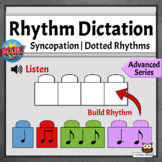 Music Distance Learning Game | Advanced Rhythmic Dictation, Set 3