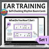 Elementary Music Rhythm Pattern Identification | Boom Card