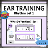 Music Distance Learning Games | Boom Cards Rhythm Pattern
