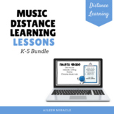 Music Distance Learning Lessons {K-5 Bundle}