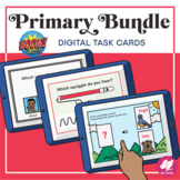 Music Distance Learning: Primary BOOM CARD BUNDLE - No stu