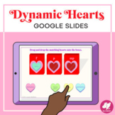 Music Distance Learning: Valentine's Day Dynamics - Google Slides