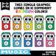 Music Doodles Clipart Set {Zip-A-Dee-Doo-Dah Designs}
