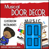 Music Door Decor - For Doors and Bulletin Boards - Classro