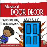 Music Door Decor - For Doors and Bulletin Boards - Orchest