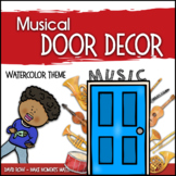 Music Door Decor - For Doors and Bulletin Boards - Waterco