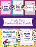 Music Dots Manipulatives Bundle