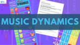 Music Dynamics-LESSON + INFOGRAPHIC