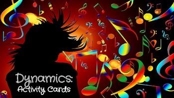 Music Dynamics Activity Cards