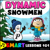 Snowman Music Dynamic Game: Winter Music Game: Winter Dynamics Game: Activity