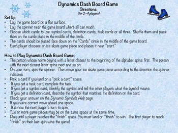 Music: Dynamics Dash Board Game