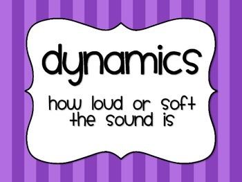 Music Dynamics Posters - Brights