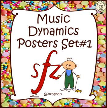 Music Dynamics Posters set #1