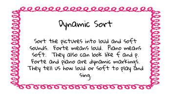 Music Dynamics Sorting
