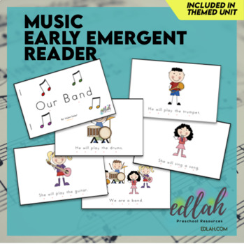 Music Early Emergent Reader